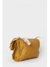 Taba foldover ruche shoulder bag