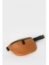 Taba leather belt bag